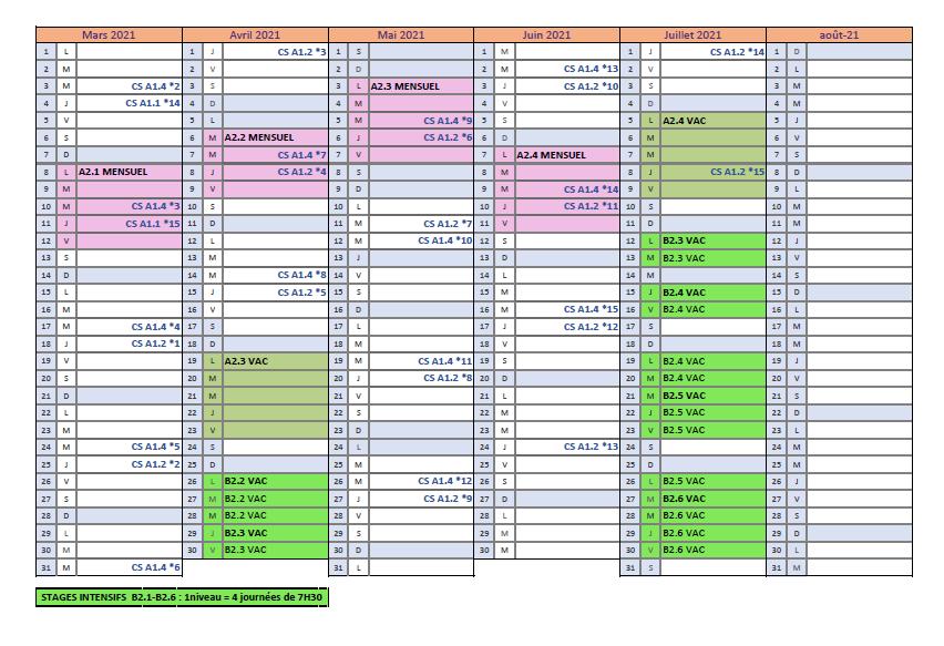 Calendrier ASA-FLSF 2020-2021 page 2