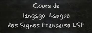 image cours lsf