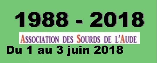 1-2-3 Juin l'ASA fête ses 30ans